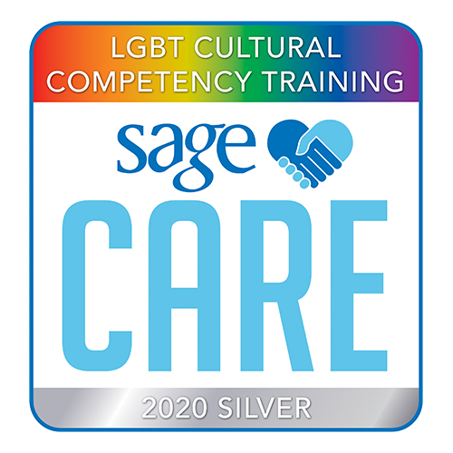 sage care LGBT cultural competency training 2019 bronze