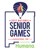 national senior games 2019 logo