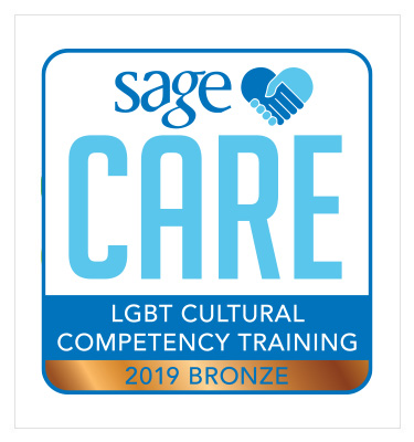 SAGECare LGBT Cultural Competency Training 2019 Bronze level